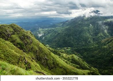 View from the top of Little Adam's Peak - Ella, Sri Lanka