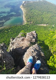 view from top of mountain
