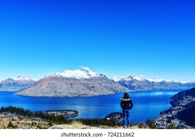 View from the top of Queenstown Hill