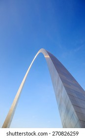 View of the top of the Saint Louis Gateway Arch