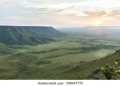 View from top of Serra do Espirito Santo - Tocantins, Brazil