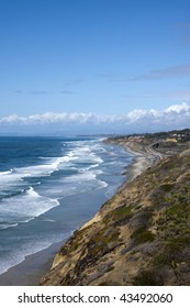 View from Top of Torrey Pines State Park in San Diego California