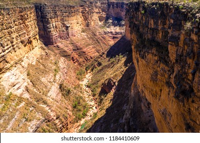 View of the Toro Toro canyon in Bolivia. Cochabamba. Lookout