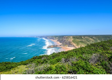 View from Torre de Aspa viewpoint in Portugal