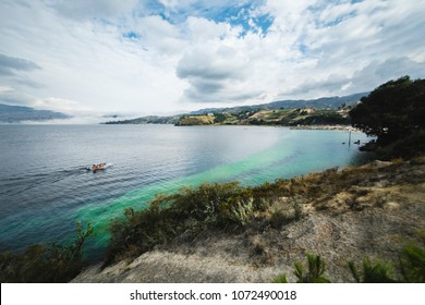 A view of the Tota Lake in Colombia