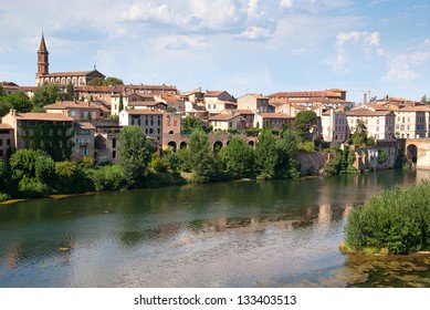 View from Toulouse-Lautrec museum, Albi, France
