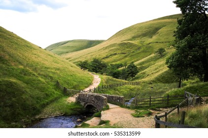 View towards Edale from Jacob's Ladder, Peak District National Park