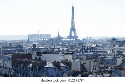 View towards the Eiffel Tower