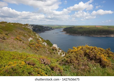 View towards Salcombe, Devon, England