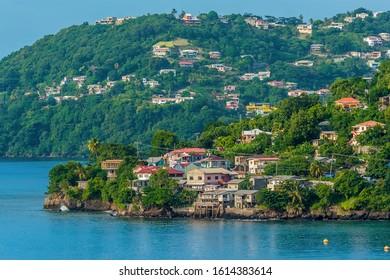 Blick auf das Meer in St Georges, Grenada