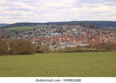 View of the town of Weil der stadt in the Boeblingen district - Shutterstock ID 1990824380