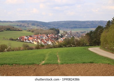 View of the town of Weil der stadt in the Boeblingen district - Shutterstock ID 1990824386