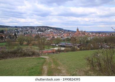 View of the town of Weil der stadt in the Boeblingen district - Shutterstock ID 1990824395