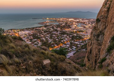View of Townsville City from Castle Hill