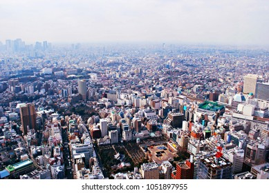 View of Toyko from Roppongi Hills, Japan