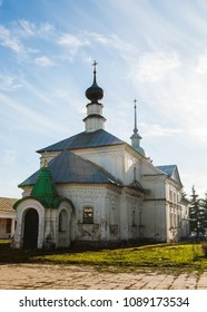 The view of the traditional Russian church in Suzdal, Vladimir region, Russia.