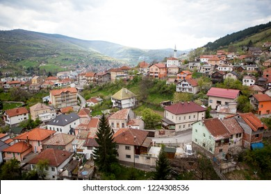View from Travnik Castle