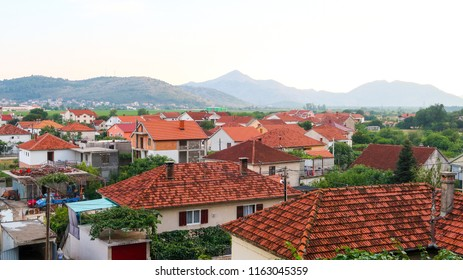 View of Trebinje City in Bosnia and Herzegovina From the Top of the Hill