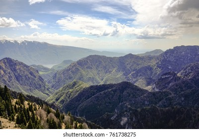 View from Tremalzo