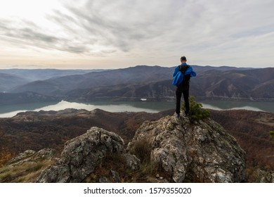 view from the Trescovat summit on the Danube