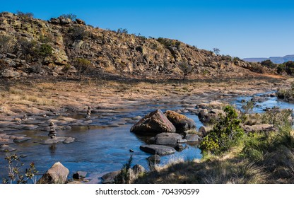 View of The Treur River on The Panorama Route, Mpumalanga, South Africa.