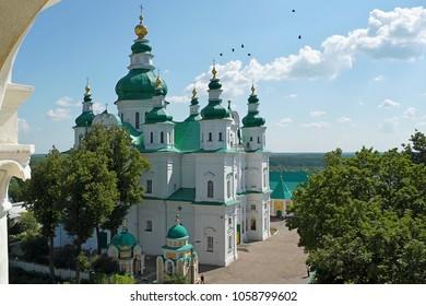 View at Trinity Cathedral, Chernihiv (Chernigov), Ukraine