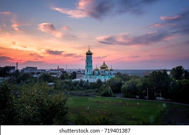 View of the Trinity Cathedral. Perm, Russia.