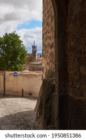 View of Trujillo, a city in the province of Cáceres (Extremadura), land of conquerors. Spain.