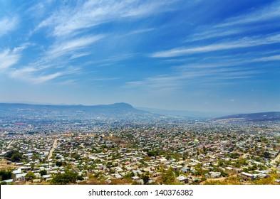 A view of Tuxtla Gutierrez, the capital of Chiapas, Mexico