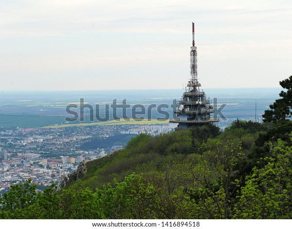 View Tv Radio Bts Tower Called Stock Photo (Edit Now) 1416894518