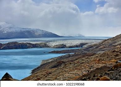 View of Upsala Glacier