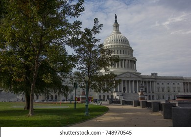 View of the U.S. Capitol building in Washington D.C., Friday, November 3rd, 2017.