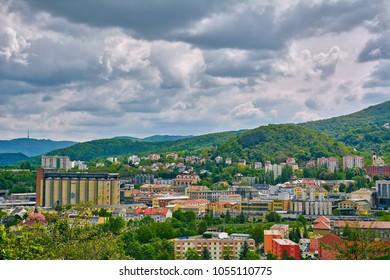 View of Usti Nad Labem, Czech Republic