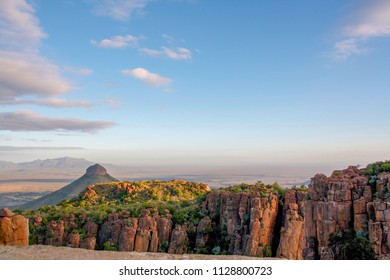 View at the Valley of Desolation