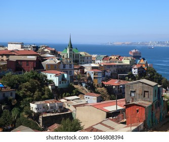 View of Valparaiso, Chile.