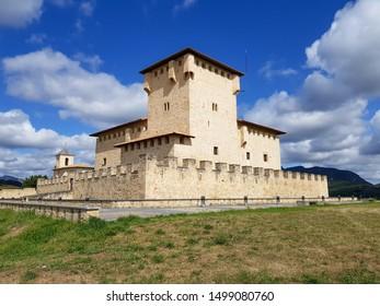 View of the Varonas' Palace (Alava, Spain)
