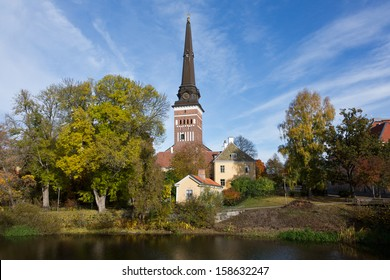View of Vasteras Cathedral, Sweden.