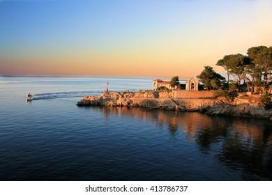 view in Veli Losinj, Croatia