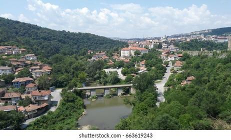 View from Veliko Tarnovo