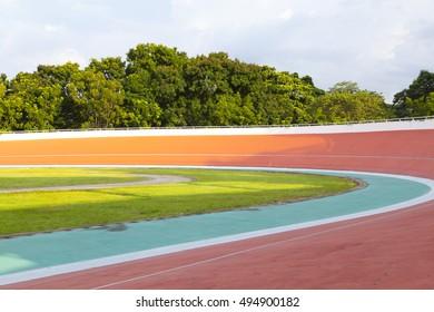 View of Velodrome stadium