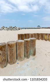 View to Venice beach in California which is a buzzing beach town with upscale commercial and residential pockets.