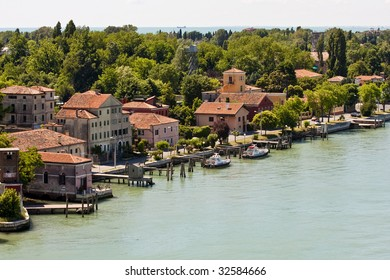 A view of Venice east of the Grand Canal