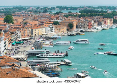 the view of Venice, Italy
