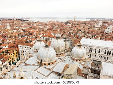 The view of Venice from the top of San Marco Campanile