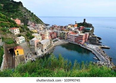 View of Vernazza (Cinque Terre, Italy)