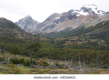 View in Vicinity of Ushuaia, Argentina