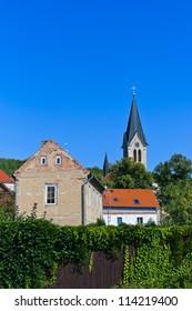 View to Village Libusin - Czech republic