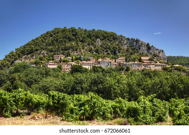 View of the Village of Seguret, Provence