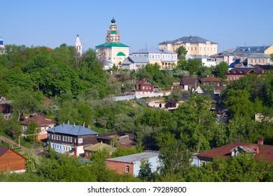 View of Vladimir city, Russia