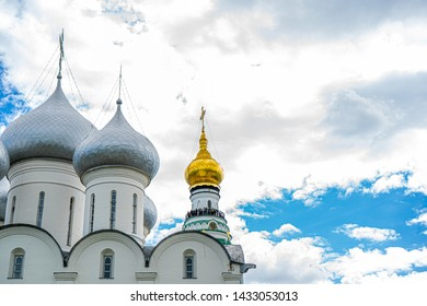 View of Vologda Kremlin in Vologda, Russia